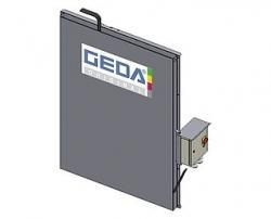 Kabelfack, 50 m plattkabel GEDA 300 Z/ZP-2 400 V