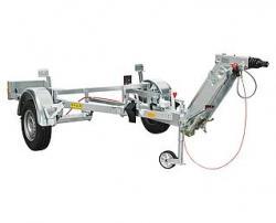 Transportvagn exkl. fordonskoppling GEDA 300 Z/ZP-2