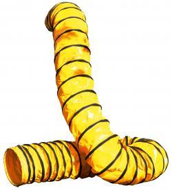 Flexibel spiralluftslang