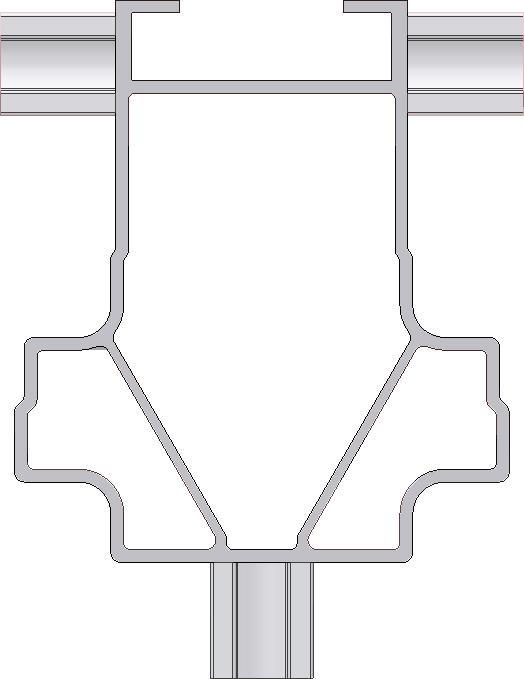 Aluminiummast GEDA 300 Z