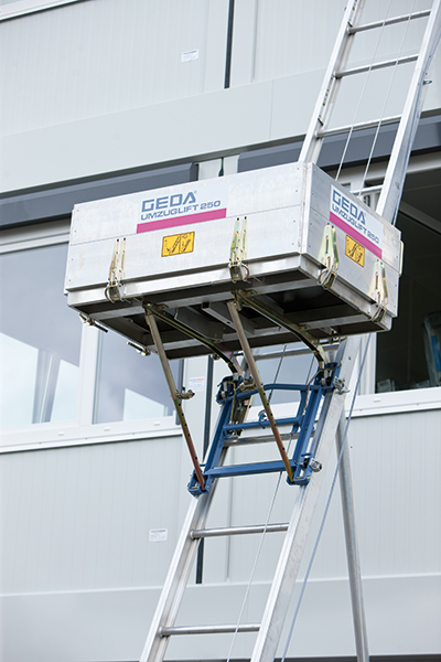 GEDA Lift Möbel - perfekt flytthiss