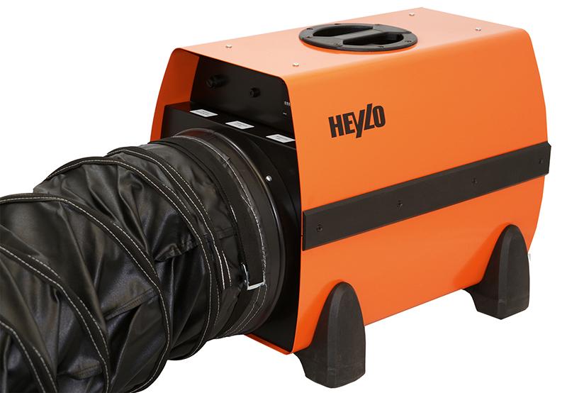 Heylo DE 20 SH högtemperatur elvärmare