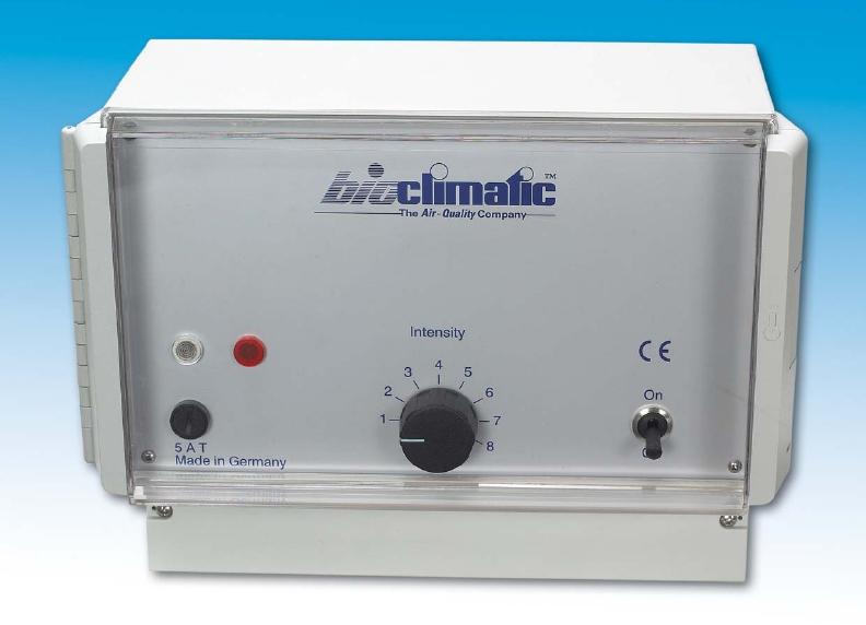 Extern styrning IR100-Aerotron