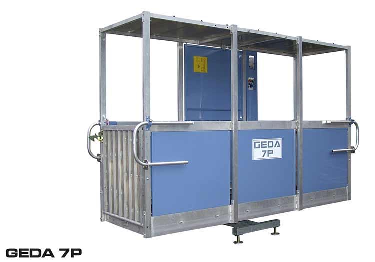 Komplett korg till GEDA 7P nu inte längre i produktion.