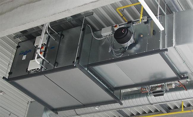Nordluft EcoKomfort med värmepump och brännkammare för olja eller gas